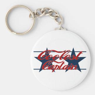 Coolest Captain Key Chain