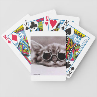 Coolest Cat alive Bicycle Playing Cards