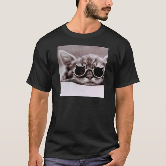 Coolest Cat alive - Black T-Shirt for Men
