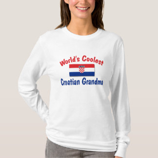 Coolest Croatian Grandma T-Shirt