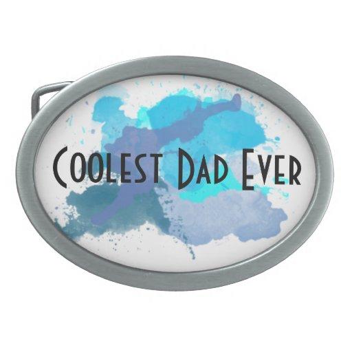 Coolest Dad Ever Belt Buckle