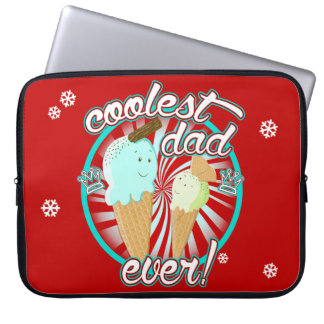 Coolest Dad Ever! Laptop Sleeve
