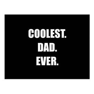 Coolest Dad Ever Postcard