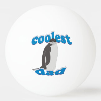 Coolest Dad Penguin Ping Pong Ball
