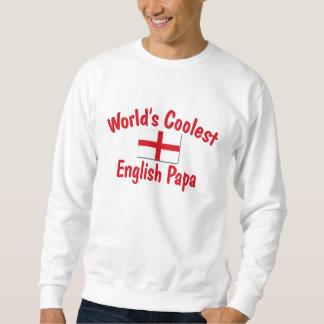 Coolest English Papa Sweatshirt