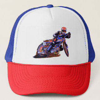 Coolest Flat Track Speedway Motorcycle Trucker Hat