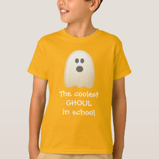 Coolest Ghoul in School Cute Halloween T-Shirt