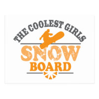 Coolest Girls Snowboard