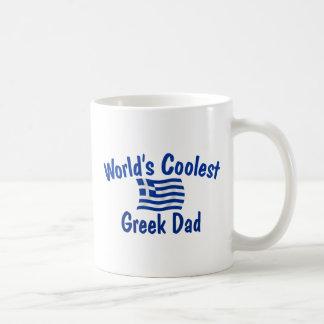 Coolest Greek Dad Classic White Coffee Mug