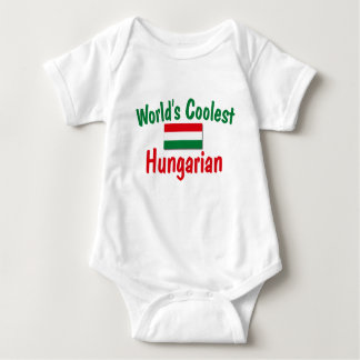 Coolest Hungarian Baby Bodysuit