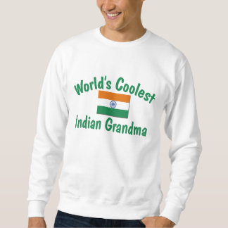 Coolest Indian Grandma Sweatshirt