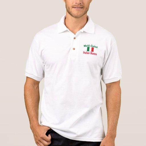 Coolest Italian Nonno Polos