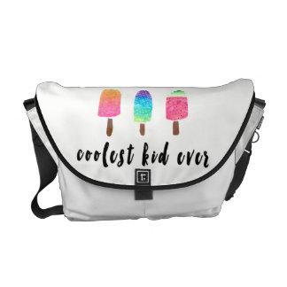 Coolest Kid Ever Colorful Popsicles Diaper Commuter Bag