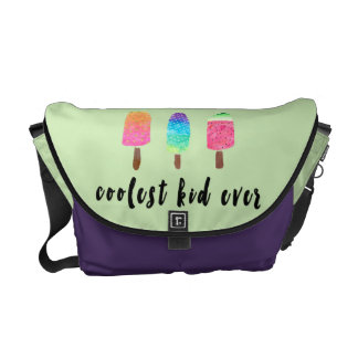 Coolest Kid Ever Popsicles Toddler Baby Diaper Courier Bags