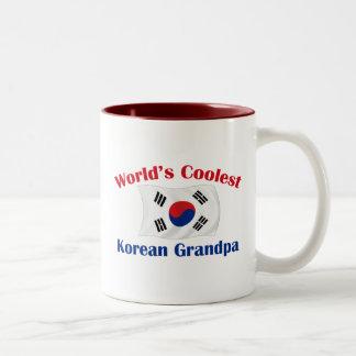 Coolest Korean Grandpa Two-Tone Coffee Mug
