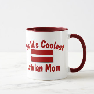 Coolest Latvian Mom Mug