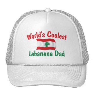 Coolest Lebanese Dad Trucker Hat