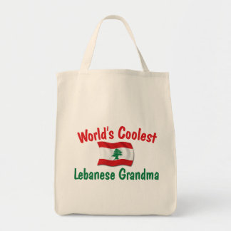 Coolest Lebanese Grandma Tote Bag