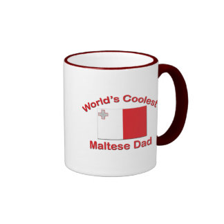 Coolest Maltese Dad Coffee Mugs