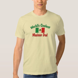 Coolest Mexican Dad T-shirt