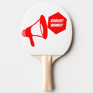 coolest monkey ping pong paddle
