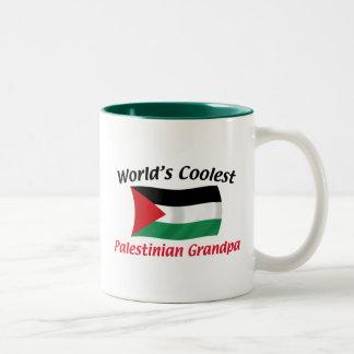 Coolest Palestinian Grandpa Two-Tone Coffee Mug
