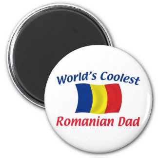 Coolest Romanian Dad Refrigerator Magnets