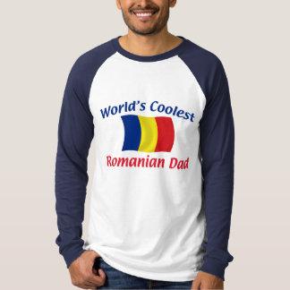 Coolest Romanian Dad T Shirt