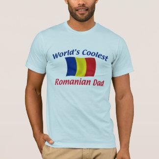 Coolest Romanian Dad T-Shirt