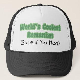 Coolest Romanian Trucker Hat