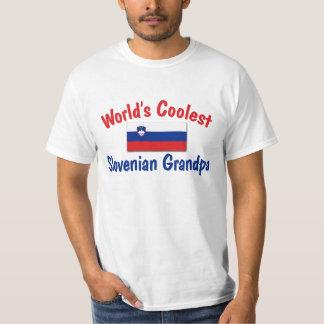 Coolest Slovenian Grandpa T-Shirt