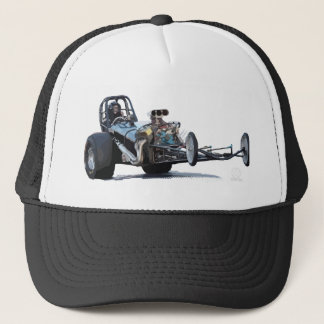 Coolest Vintage Dragster Trucker Hat