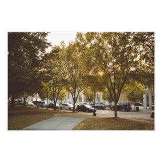 Coolidge Park At Dusk Photo Print