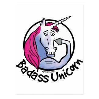 Coolly Unicorn bang-hard unicorn Postcard