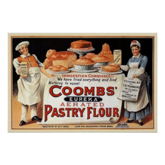 Coombs Pastry Flour Poster