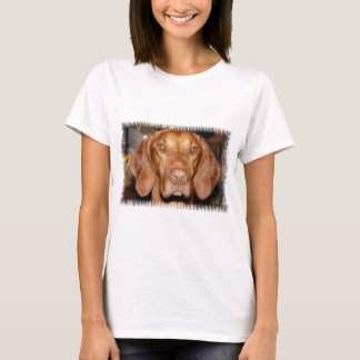 Coon Hound Ladies Fitted T-Shirt