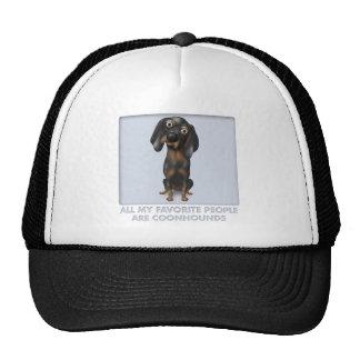 Coonhound (Black and Tan) Favorite Mesh Hat