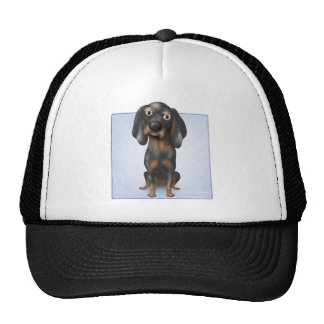 Coonhound (Black and Tan) Mesh Hat