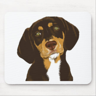 Coonhound Mouse Pad