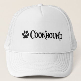 Coonhound (pirate style w/ pawprint) trucker hat