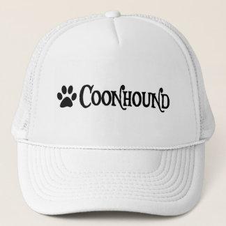 Coonhound (pirate style w/ pawprint) trucker hat