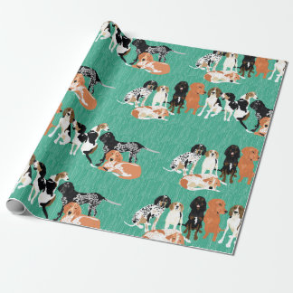 Coonhound Row Wrapping Paper