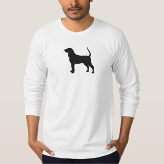 Coonhound Silhouette Tee Shirt