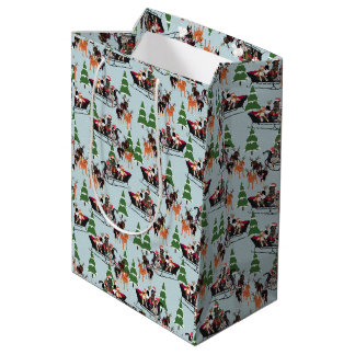 Coonhound Sled Gift Bags