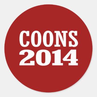 COONS 2014 STICKER
