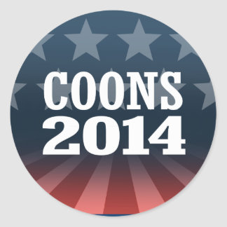 COONS 2014 STICKERS