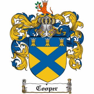 Cooper Coat of Arms Photo Sculpture Cut Out