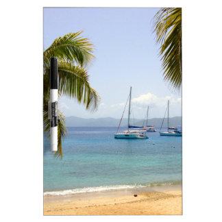 Cooper Island British Virgin Islands Dry Erase Whiteboards