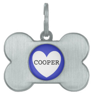 ❤️  COOPER pet tag by DAL