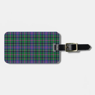 Cooper Tartan Pattern Luggage Tag